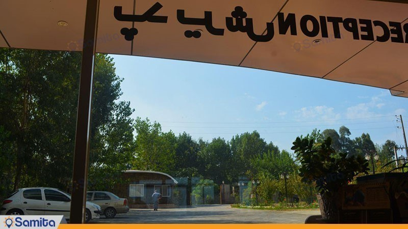 محوطه هتل ماهان محمود آباد