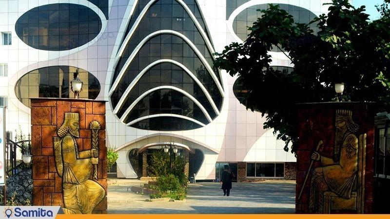 نمای ساختمان هتل ماهان محمود آباد