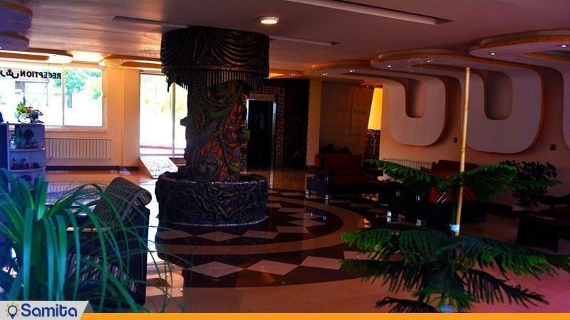 لابی هتل ماهان محمود آباد