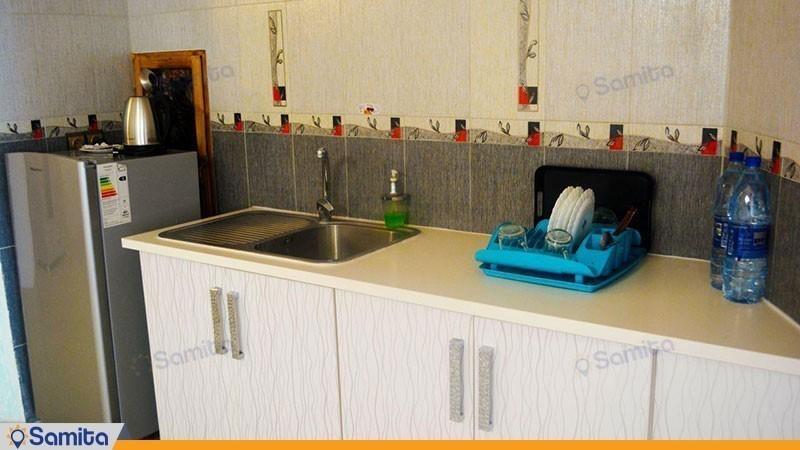 آشپزخانه هتل ماهان محمود آباد