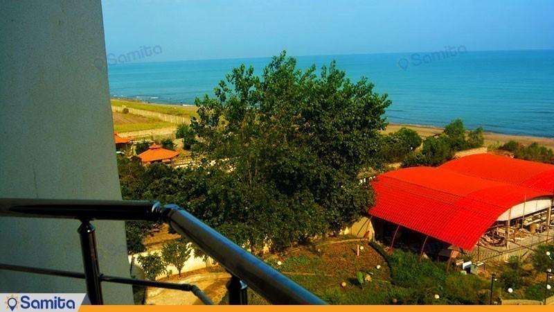 منظره هتل ماهان محمود آباد