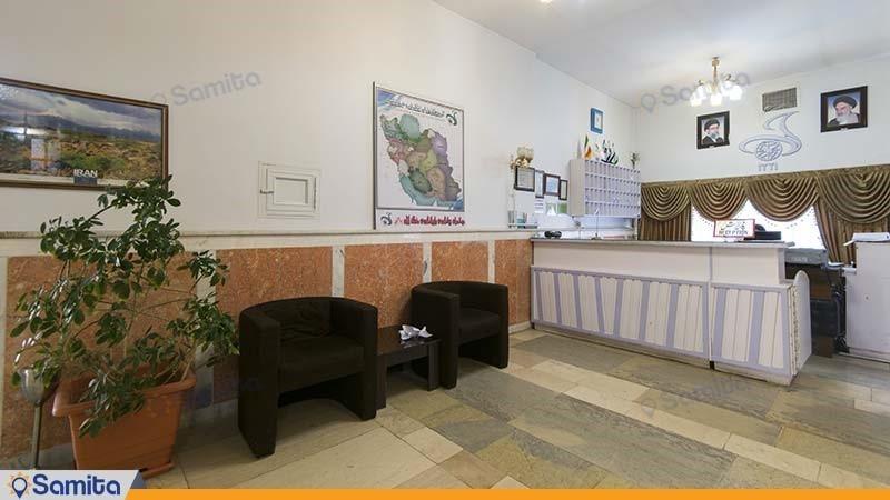پذیرش هتل جهانگردی ماکو