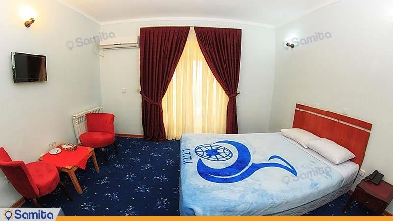 اتاق دبل هتل جهانگردی مرند