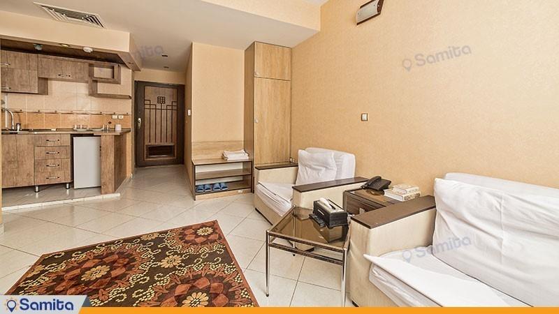 سوئیت یک خوابه هتل آپارتمان لبخند