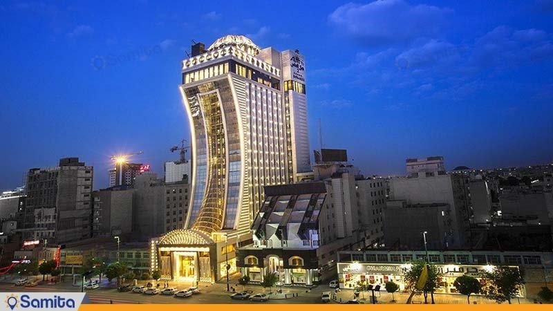 نمای ساختمان هتل الماس 2