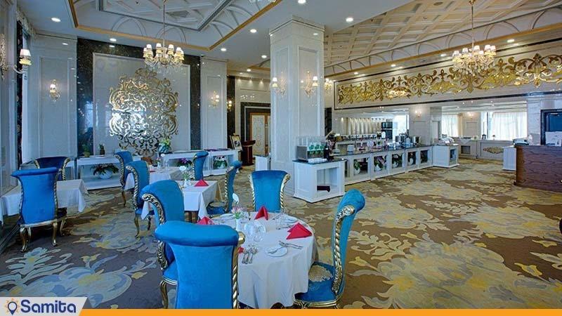 رستوران فیروزه هتل الماس 2