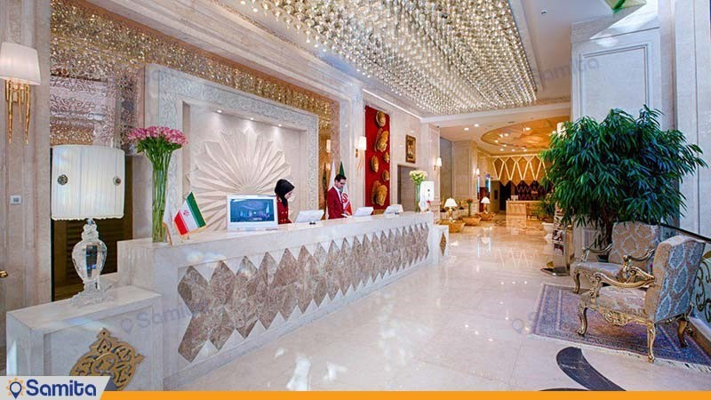 پذیرش هتل الماس 2