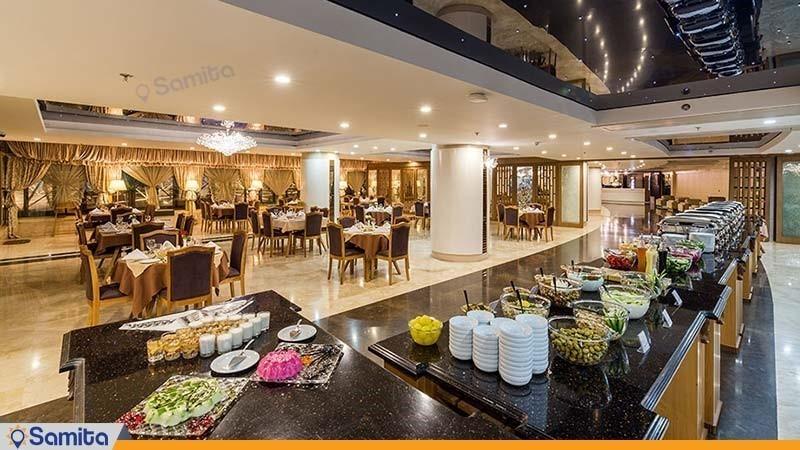 رستوران زعفران هتل آپارتمان آرمان