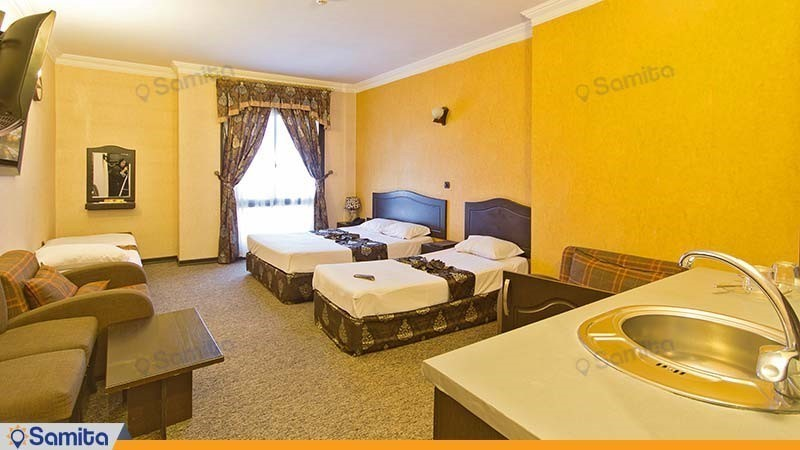اتاق چهار نفره هتل عرش