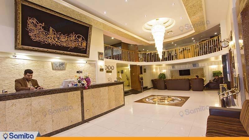 پذیرش هتل عرش