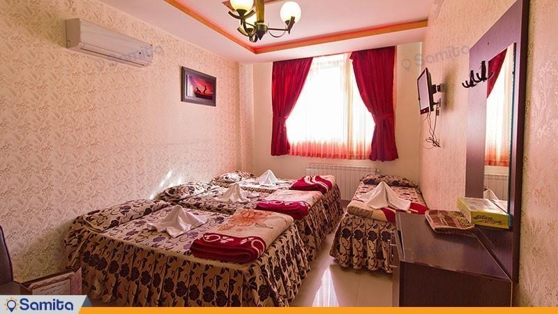 اتاق چهار تخته هتل آپارتمان آیسان