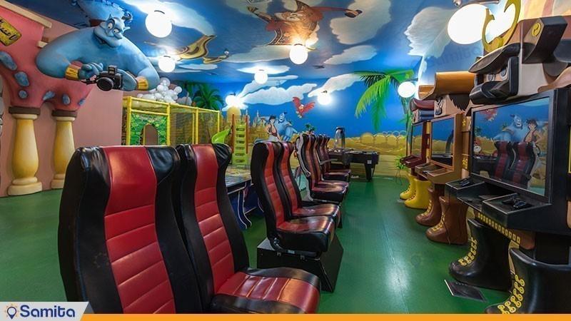 اتاق بازی و سرگرمی هتل مجلل درویشی