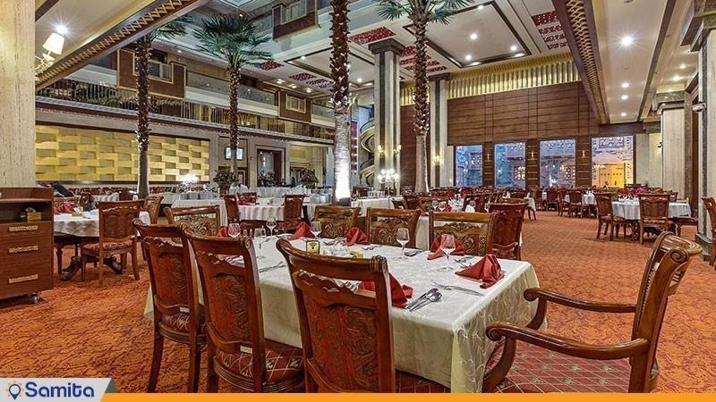 رستوران هتل مجلل درویشی