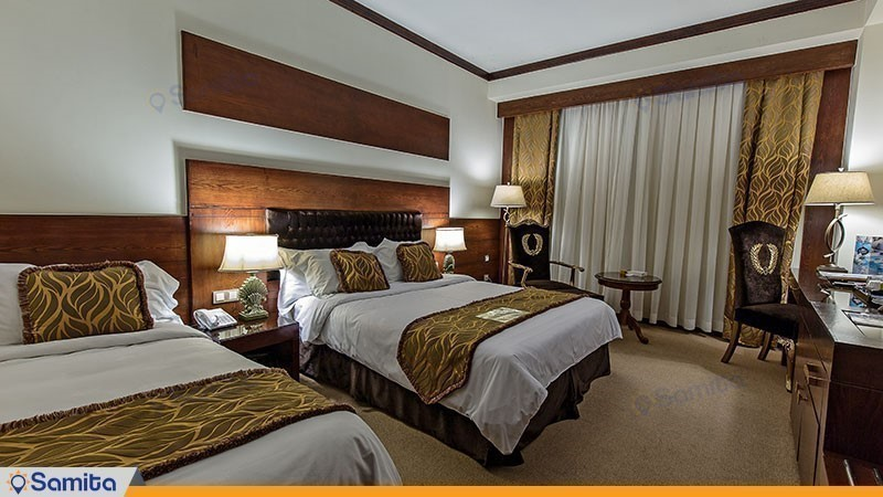 اتاق سه تخته فصلی هتل مجلل درویشی