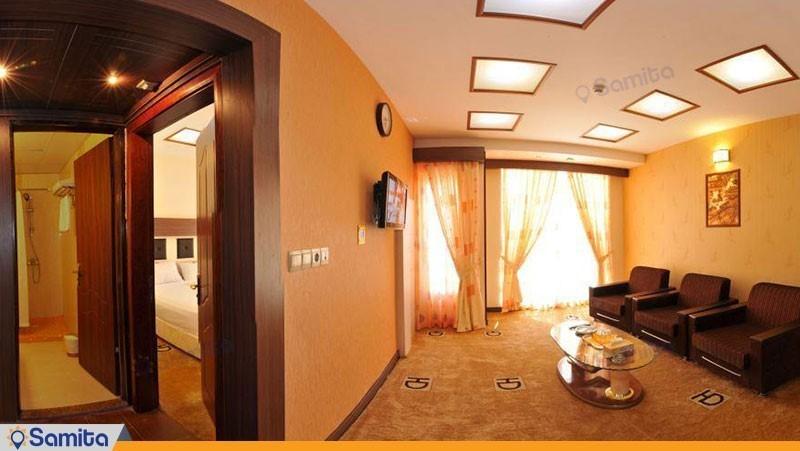 آپارتمان یک خوابه هتل دیپلمات مشهد