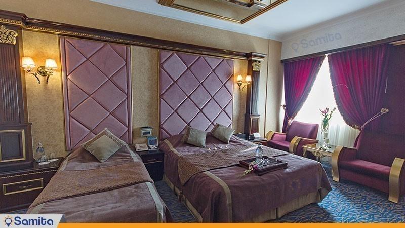 اتاق دبل هتل بین المللی قصر