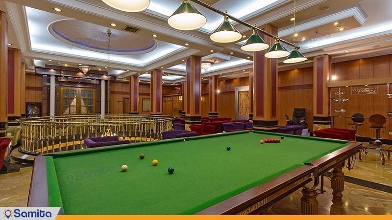 سالن بیلیارد هتل بین المللی قصر