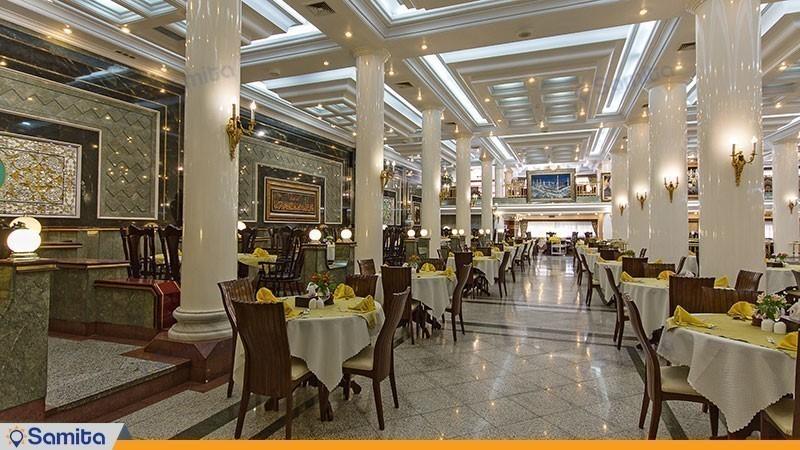 رستوران هتل بین المللی قصر