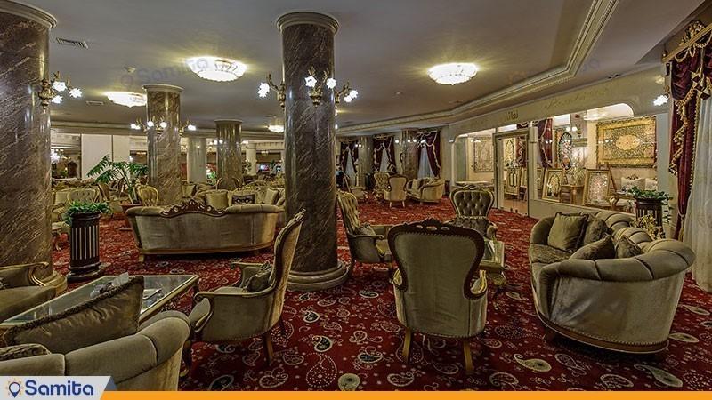 لابی هتل بین المللی قصر طلایی