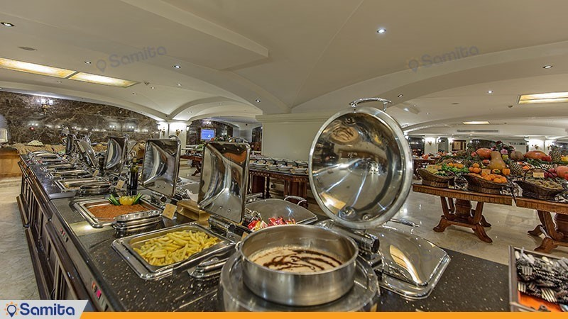 رستوران هتل بین المللی قصر طلایی