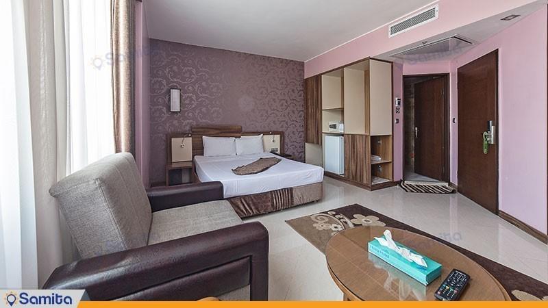 سوئیت یک خوابه هتل هاترا