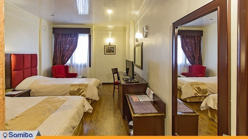 اتاق سه تخته هتل ایران مشهد