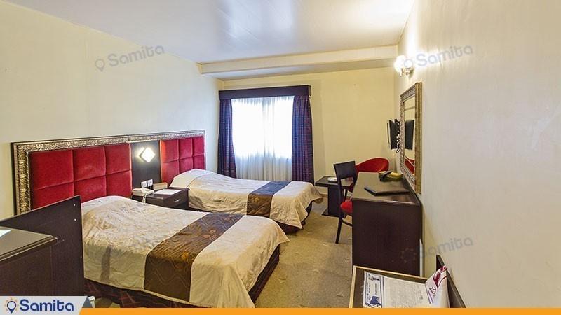اتاق دو تخته هتل ایران مشهد