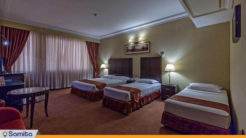 اتاق چهار نفره هتل جواد