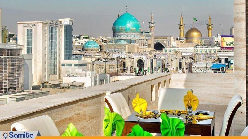 نمای هتل جواهر شرق