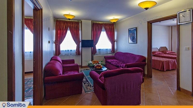 آپارتمان سه خوابه هتل خانه سبز