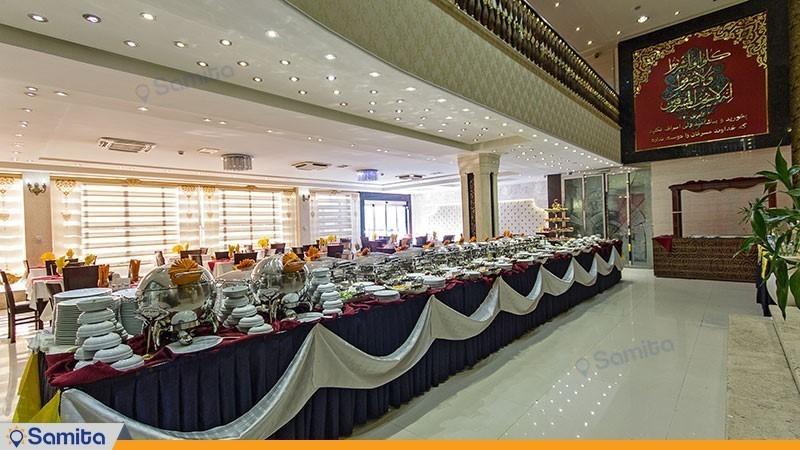 رستوران هتل کیانا