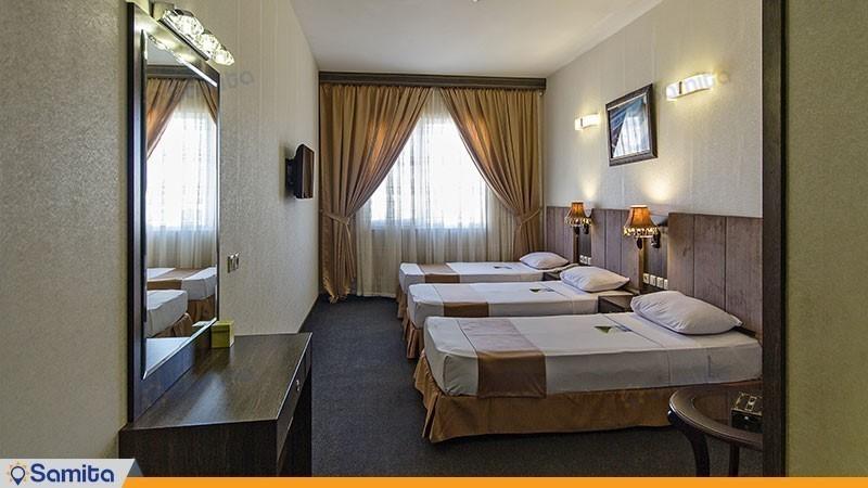 اتاق سه تخته هتل کیانا