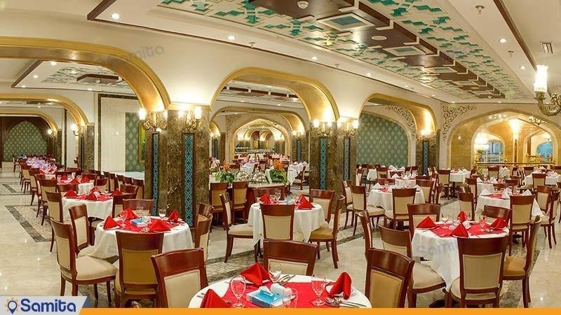 رستوران هتل مدینة الرضا