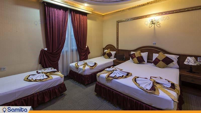اتاق چهار نفره هتل میامی