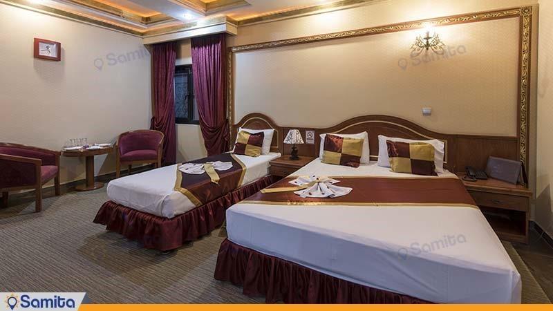 اتاق سه نفره هتل میامی