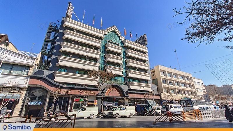 نمای ساختمان هتل نور