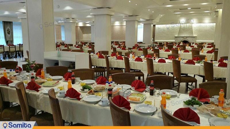 رستوران هتل پردیس