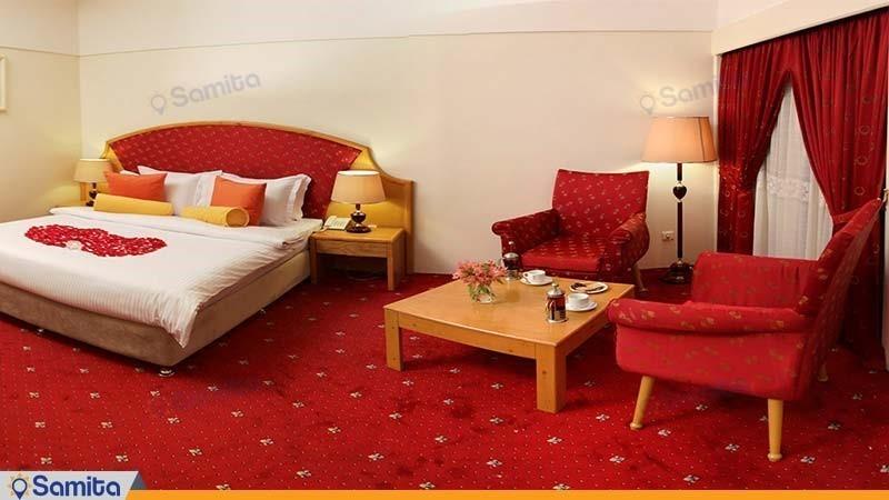 اتاق دبل هتل پردیسان