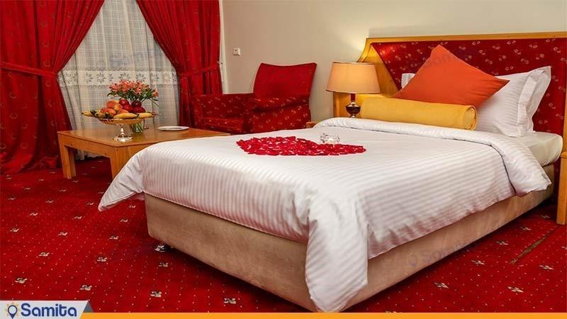 اتاق یک تخته معمولی هتل پردیسان