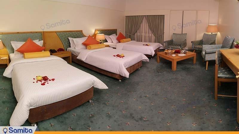 اتاق سه تخته t هتل پردیسان