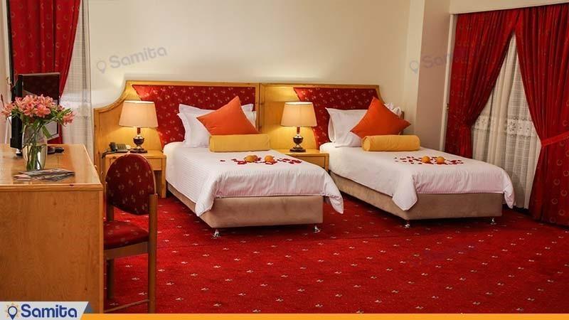 اتاق دو تخته هتل پردیسان