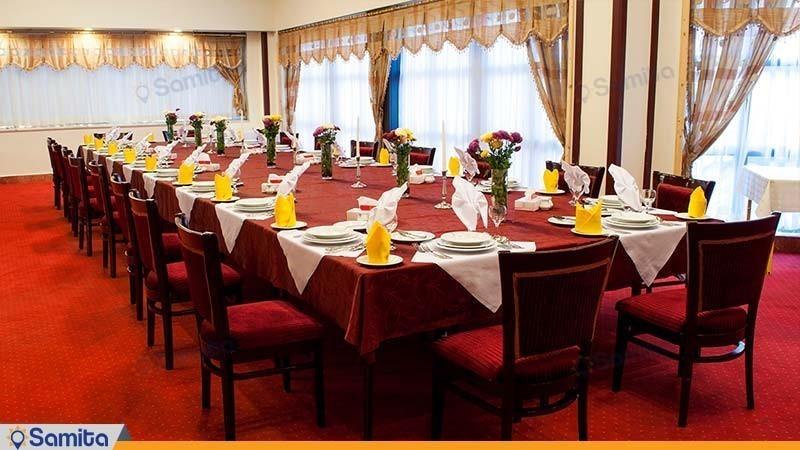 رستوران vip هتل پردیسان