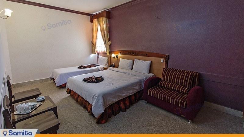 اتاق سه تخته هتل پارمیدا
