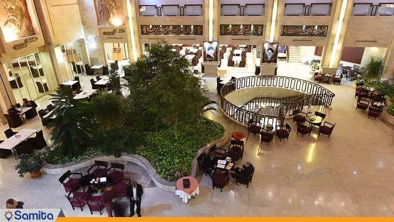 کافی شاپ هتل پارس مشهد