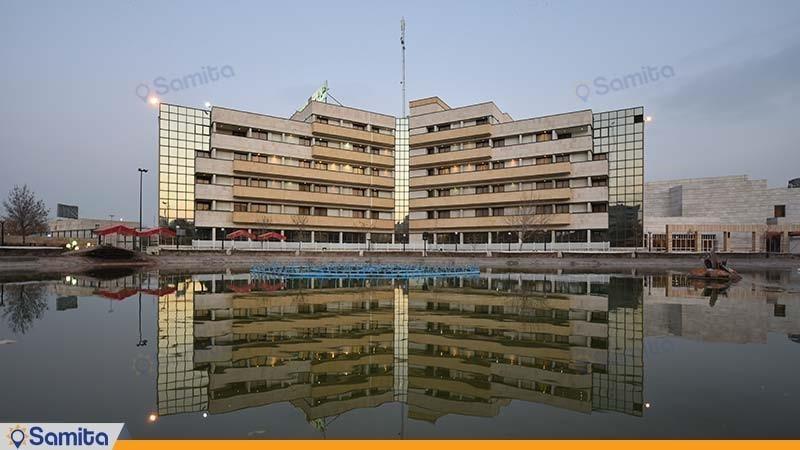 نمای ساختمان هتل پارس مشهد