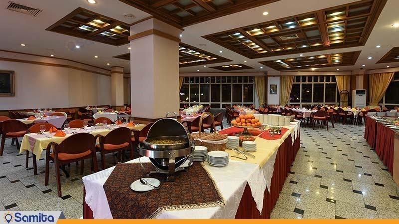 رستوران هتل پارس مشهد