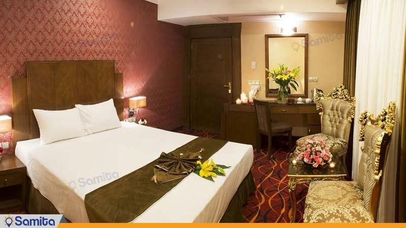 اتاق دبل هتل پارسیس