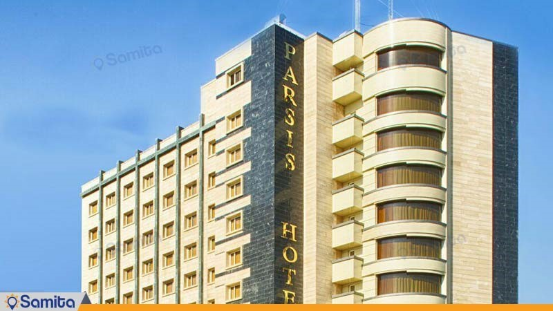 نمای ساختمان هتل پارسیس