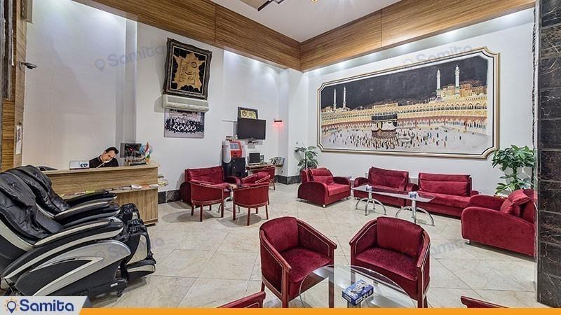 لابی هتل آپارتمان قصر آیدین