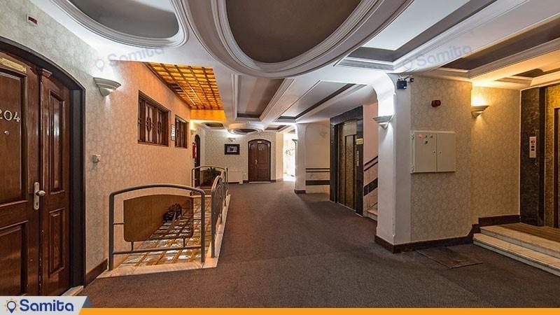 راهرو هتل صادقیه مشهد
